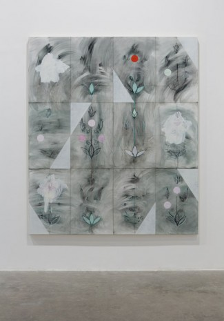 Kamrooz Aram, Seven Sessions with Brahem (Palimpsest #22), 2013, Green Art Gallery