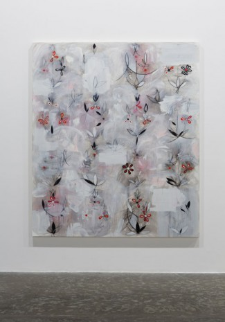 Kamrooz Aram, Resistant Forms in Uncertain Space (Palimpsest #27), 2013, Green Art Gallery