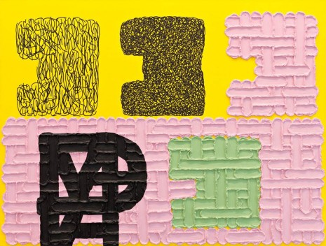 Jonathan Lasker, An Image of the Self, 2009, Peder Lund