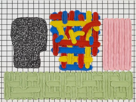 Jonathan Lasker, The Placement of Objects in an Uncertain Universe, 2013, Peder Lund