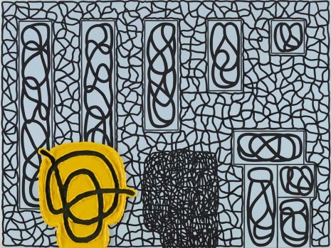 Jonathan Lasker, Law and Nature, 2012, Peder Lund