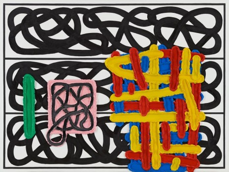 Jonathan Lasker, The Future of Thought, 2011, Peder Lund