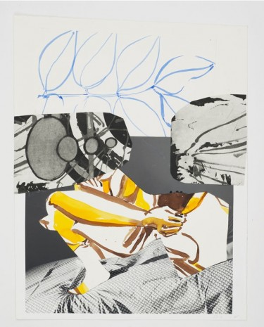 David Salle, Untitled, 2014, Maureen Paley