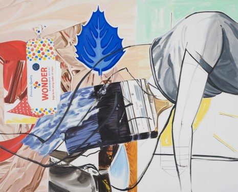 David Salle, Grace of, 2013-2014, Maureen Paley