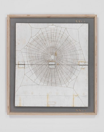 Tom Sachs, Spider Web (White) (Working title), 2008, Galerie Thaddaeus Ropac