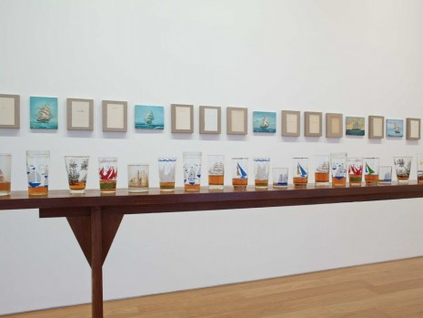 Valeska Soares, Not All Who Wander Are Aimless (detail), 2014, Max Wigram Gallery (closed)