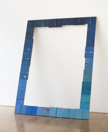 Valeska Soares, Threshold (Blue), 2014, Max Wigram Gallery (closed)
