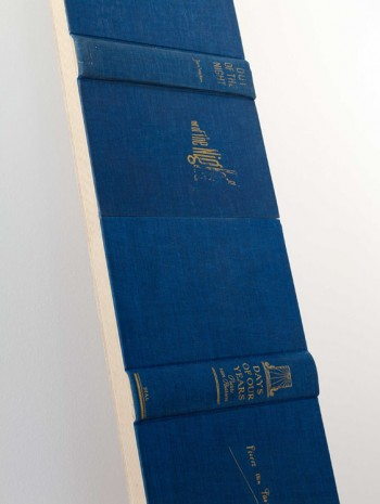 Valeska Soares, Threshold (Blue), (detai), 2014, Max Wigram Gallery (closed)
