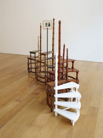 Valeska Soares, Spiralling, 2014, Max Wigram Gallery (closed)