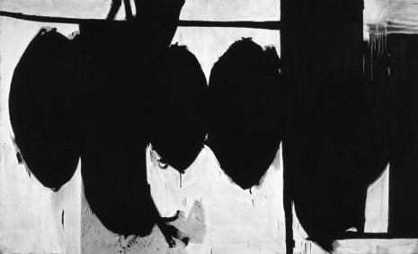 Robert Longo, After Motherwell (Elegy to the Spanish Republic, No. 70, 1961), 2013, Metro Pictures