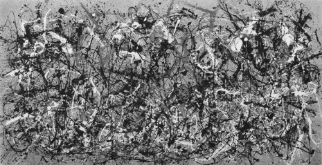 Robert Longo, After Pollock (Autumn 2013 Rhythm, Number 30, 1951), 2014, Metro Pictures