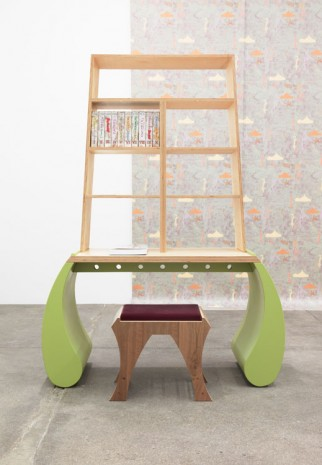 Marc Camille Chaimowicz, Bibliotheque, 2009, Andrew Kreps Gallery