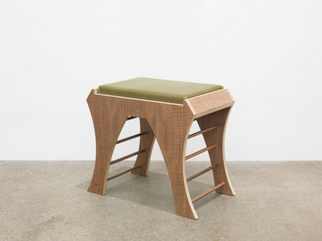 Marc Camille Chaimowicz, Piano Bench (Green), 2014, Andrew Kreps Gallery