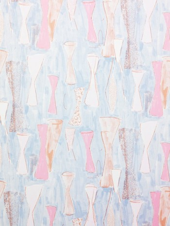 Marc Camille Chaimowicz, Study for wallpaper, Vase, , Andrew Kreps Gallery