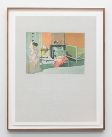 Marc Camille Chaimowicz, World of Interiors, Chapter Two, VII, 2014, Andrew Kreps Gallery