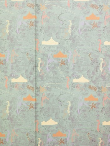 Marc Camille Chaimowicz, Study for wallpaper, Serpentine, 2013 - 2014, Andrew Kreps Gallery