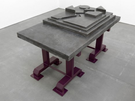 Andra Ursuta, Occasional Zombie Banquet Table Purple Violet, 2014, MASSIMODECARLO
