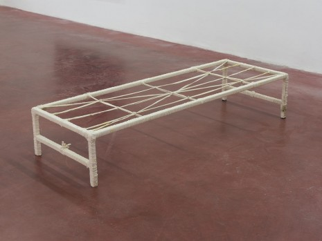 Etti Abergel, Bed from the workshop of the conch shells maker, 2003, Dvir Gallery