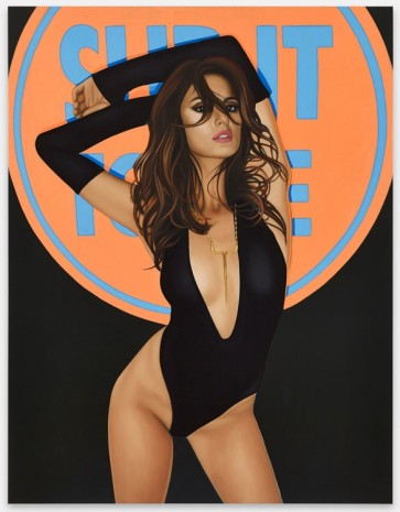 Richard Phillips, Slip It To Me, 2014, Galerie Max Hetzler