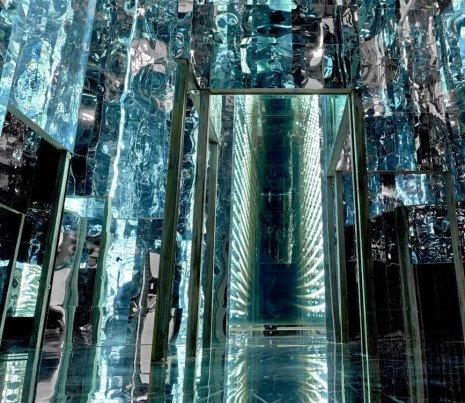 Lee Bul, Via Negativa (interior detail), 2012, Lehmann Maupin