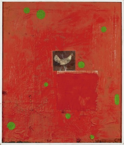 Chris Martin, The Red Chicken, 2010/2012, KOW