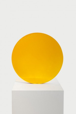 De Wain Valentine, Amber to Gold Circle, 1971, Almine Rech