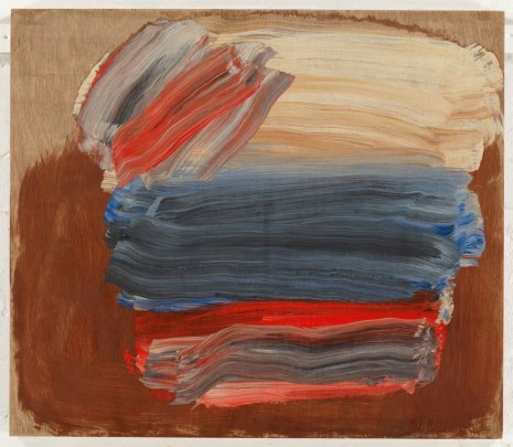 Howard Hodgkin, From the Head of the Bed, 2014, Gagosian