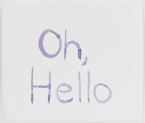 Mathew Cerletty, Oh, Hello, 2013, Office Baroque