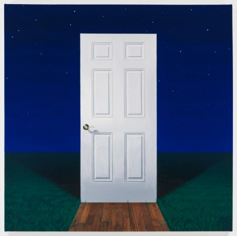 Mathew Cerletty, White Door, 2013, Office Baroque