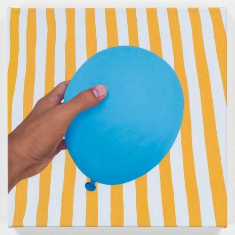 Mathew Cerletty, Blue Balloon, 2013, Office Baroque