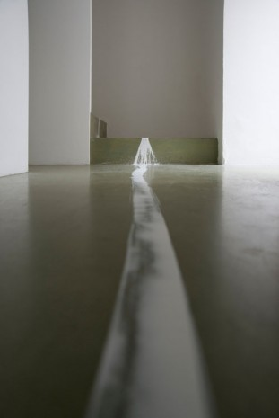 Ceal Floyer, Taking a Line for a Walk (detail), 2008, Lisson Gallery