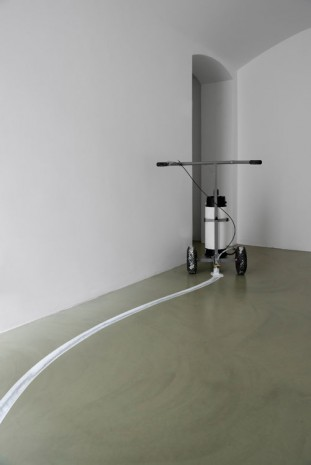 Ceal Floyer, Taking a Line for a Walk, 2008, Lisson Gallery