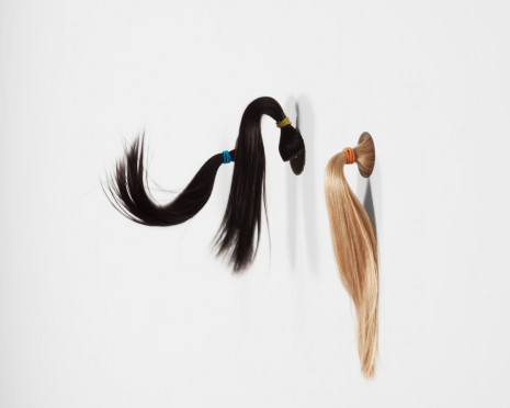 Mika Rottenberg, Ponytails, 2014, Andrea Rosen Gallery (closed)