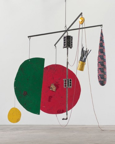 Sterling Ruby, SCALE / BATS, BLOCKS, DROP (4837), 2014, Hauser & Wirth