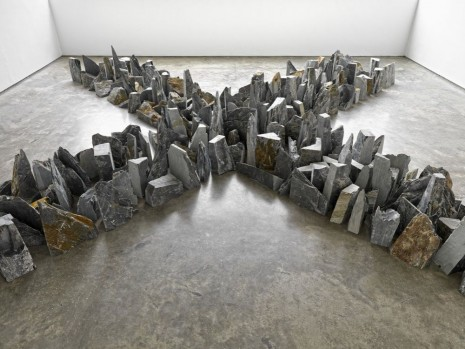 Richard Long, Four Ways, 2014, Lisson Gallery