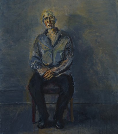 Celia Paul, Steve Seated, 2014, Victoria Miro Gallery