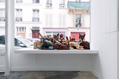Samara Golden, Mass murder of the guides and guardians 2, 2014, Galerie Crèvecoeur