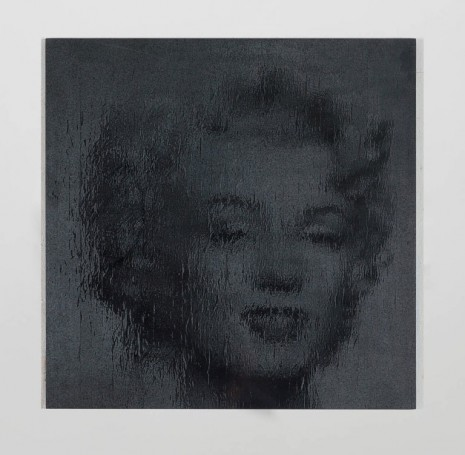 Gregor Hildebrandt, Marilyn in Mirror (after A.W.), 2014, Perrotin