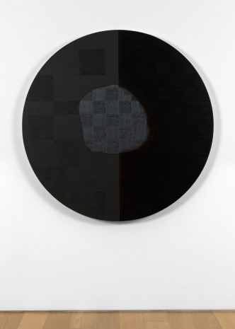McArthur Binion, DNA Study: Circle, 2014, Max Wigram Gallery (closed)