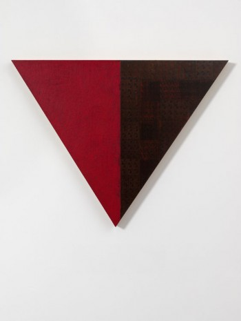McArthur Binion, Stelluca: V, 2011, Max Wigram Gallery (closed)