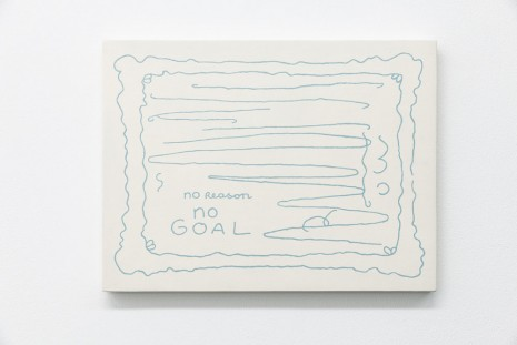 Lily van der Stokker, No Reason, No Goal, 2008-2014, Air de Paris