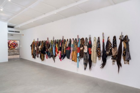 Pascale Marthine Tayou, The Soul and the Spirit, 2010, Galleria Continua