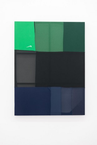 Mike Goldby, Stretch 24 (Tri-colour Play Dry), 2014, monCHÉRI