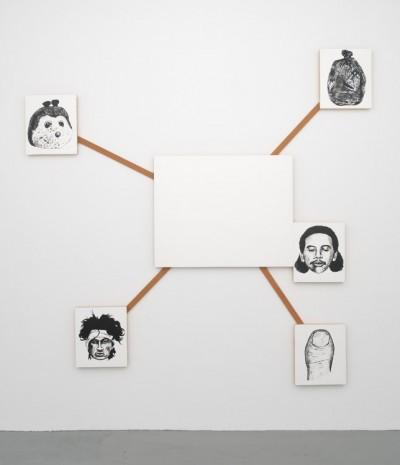 Mike Kelley, Center and Peripheries #2, 1990, Marianne Boesky Gallery