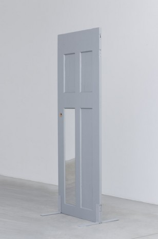 Tom Burr, Single Silver Door (two), 2014, Galleria Franco Noero
