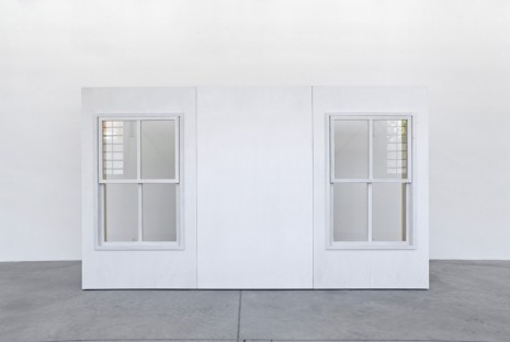 Tom Burr, Double Hung Detachment, 2014, Galleria Franco Noero