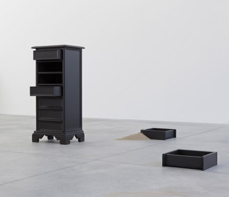 Tom Burr, Salò Chest of Drawers (one), 2014, Galleria Franco Noero