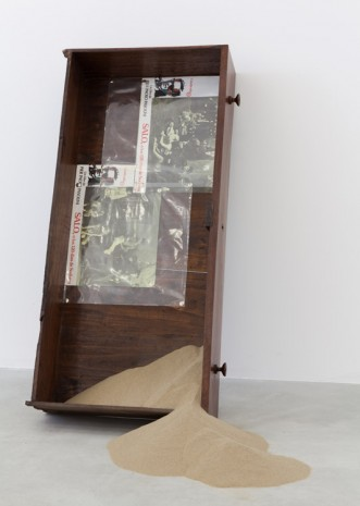 Tom Burr, Salò Chest of Drawers (three), 2014, Galleria Franco Noero