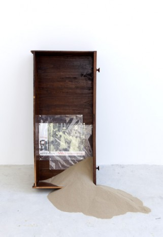 Tom Burr, Salò Chest of Drawers (four), 2014, Galleria Franco Noero