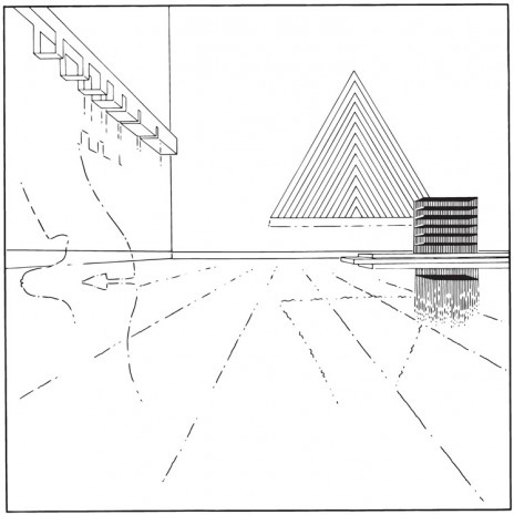 Louise Lawler, Triangle (traced), 2008 / 2009 / 2013, Sprüth Magers